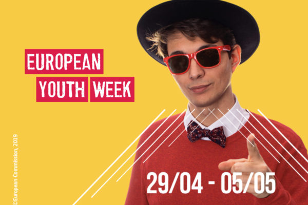 Get ready: European Youth Week 2019 is coming soon with the topic 'Democracy and me'!